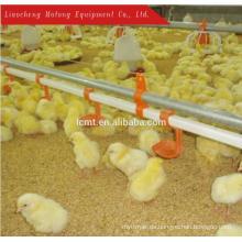 Automatische Hühnerfütterungsanlagen Hühnerhähnchen Boden / Boden System
