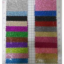 Ck-272 Shiny Tissu lisse tactile brillant pour papier peint