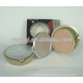 Yaqi cosméticos compacta em pó caso impermeável pó compacto