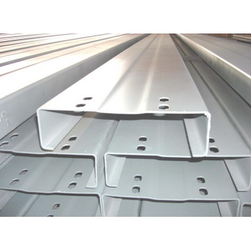 Steel Structure Painted C Section Purlin (KXD-C2)