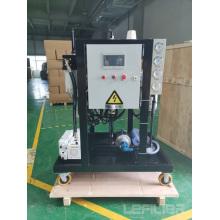 Équipement d'épurateur d'huile de lubrification sous vide élevé ZYLC-25