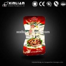 Bolsa de vacío de alta barrera de impresión para envasado de alimentos