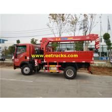 4ton 160hp SINOTRUK Crane Trucks