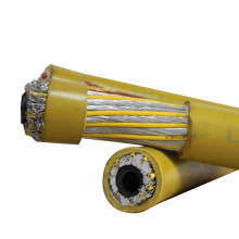 Желтый черный цвет или как требовалось супер гибкий 70мм кабель заварки СО2