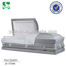 JS-ST608 steel coffins and caskets
