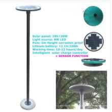 nuevo de movimiento por infrarrojos sensor solar luces led, luz solar del jardín barata con sensor de movimiento