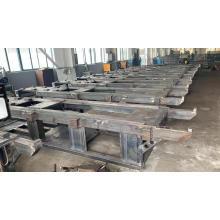 Injection molding machine equipment basement