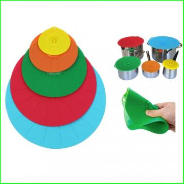 Muti-fuction Use Fashionable Lovely Lovely Silicone Lid
