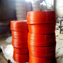 Red PVC Coated Galvanized Iron Wire