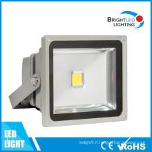 La lumière extérieure d'inondation du haut lumen 50W LED marque la lumière d'inondation de LED