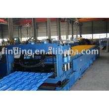 Máquina perfiladora de teja de acero