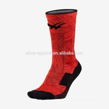 Novas meias de futebol de poliéster de alta qualidade de design