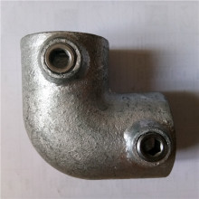 Malleable iron Key clamp of 90 deg elbow
