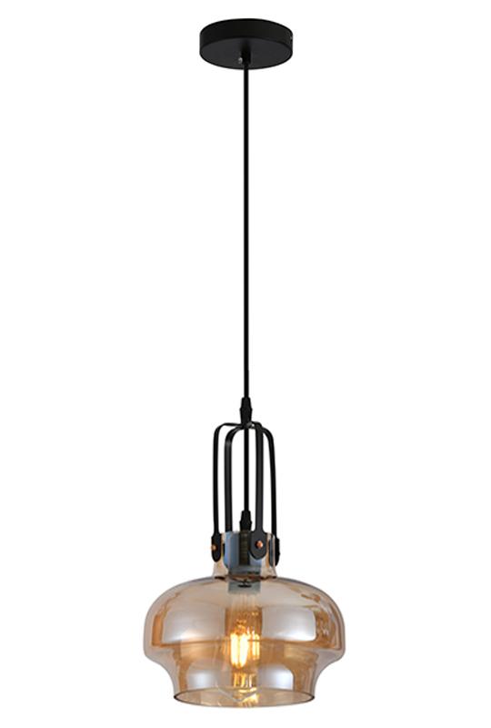 Glass Lamp Amber