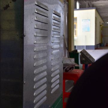Barreira de alumínio galvanizada do som da folha da barreira de ruído da placa