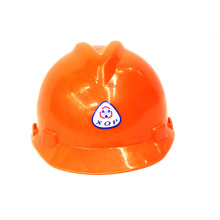 PE Y Type Safety Helmet (Orange) .