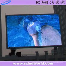 Affichage d'écran de la publicité fixe polychrome de P6 HD LED