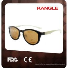 2017 новый Леди стиль металлические оправы с tr90 клип на, удобный материал tr90 клип на солнцезащитные очки