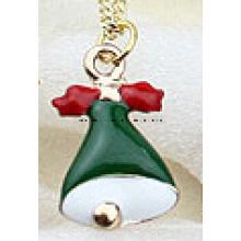 Jóias de natal / natal colar / sino de natal (xjw13357)