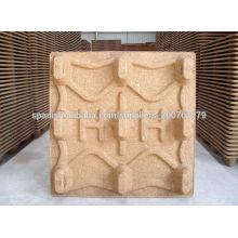 Prensa de moldagem de paletes de madeira