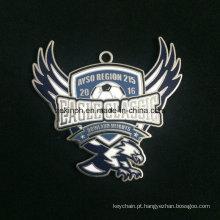 Medalha de liga Znic personalizado para Eagle clássico