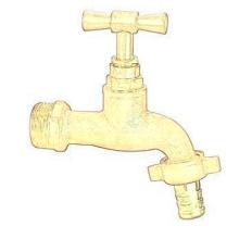 Bibcock zinc bibcock taps faucet sanwa abs bib cock water tap