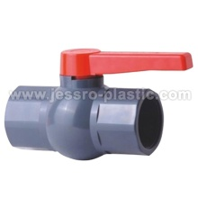 PVC VALVES-OCTAGONAL BALL VALVE C SINGLE HANDLE