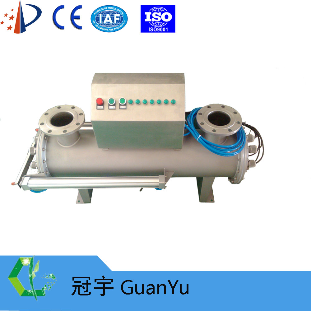 Auto cleaning UV sterilizer