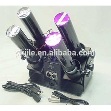 4 Shot DMX Control E-Cartridge Cannon