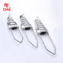 NXJ Rod aluminum alloy cable fitting wedge type wire Anchoring clamp