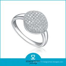 Bague en argent avec échantillon gratuit de bijoux pour femmes (R-0019)