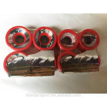 alta calidad baratos pu ruedas longboard completo