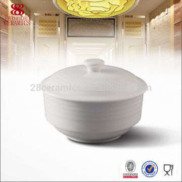 OEM запас костяного фарфора суп турин, традиционные фарфоровые пластины эмали
