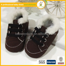 2015 new fashion lovely wholesale Lambs sheepskin baby boots baby wool shoes