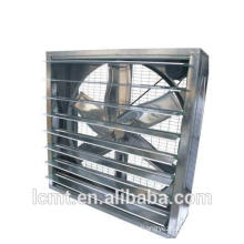 The poultry used square axial fan to cool the cooling fan