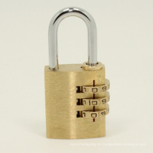 De alta calidad de latón combinación de código de bloqueo candado cerraduras digitales (110253)