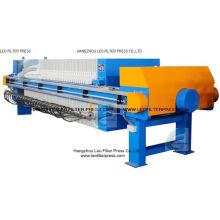 Máquina de la prensa del filtro de la membrana del aceite de palma del filtro de Leo
