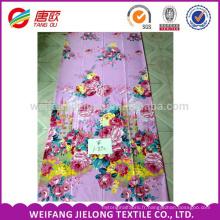 impression dispersée d'impression de tissu de polyester imperméable de polyester pour le drap