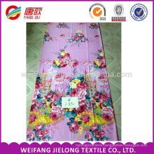 waterproof polyester fabric pigment print disperse print for Bedsheet