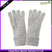 16FZCG04 luva de malha para meninas outono inverno barato cashmere luva