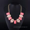 Big Acryl Fashion Bohemia Style Necklace Set