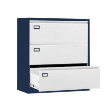 Disassemble 3 tiers wide size drawer cabinets metal cabinet