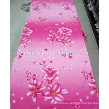 flor de borboleta colorida novo design tc impresso lençol tecido