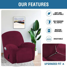 Dyed Stretch Recliner Slipcovers Recliner Office Chair Cover