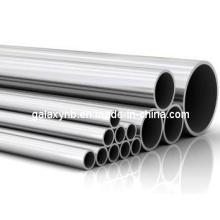 Tubo de titânio de alta precisão de alta qualidade