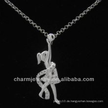 Lovely Silver Plated Angel Anhänger 2013 PSS-023