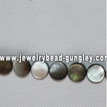 8mm ronde perles de coquillage de mer forme