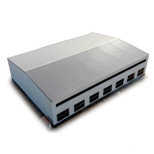 Galvanized Long Span Flexible Design Iron Workshop Steel Roof Construction Structures