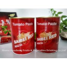 400g 18-20% Pasta de tomate em conserva