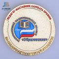 Émail personnalisé des deux côtés commémorative Police ou pièce de monnaie en métal